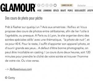 Glamour Paris - cours de photo